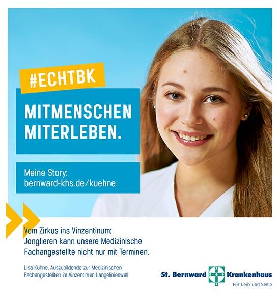 Lisa Kühne Auszubildende Medizinischen Fachangestellten