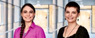 Die Babylotsinnen Fenja Machens und Jannike Brandtstaetter