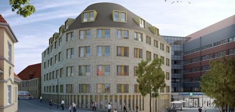 Neubau St. Bernward Krankenhaus